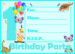 nice awesome printable birthday invitation cards best sample
