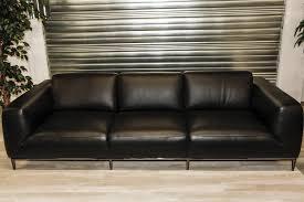 canapé cuir noir fixe canapé 4 places cuir noir 1750 00 par attraction canapés