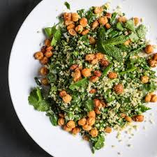 spring vegetable and herb tabbouleh salad recipe paige mccurdy