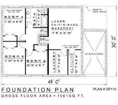 side split house plans 6 bedroom sidesplit house plan sp110 2101 sq
