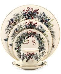 lenox winter greetings dinnerware collection china macy s