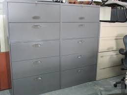 Filing Cabinets Lateral Steelcase 5 Drawer Lateral File Cabinet Plano Used Office Furniture