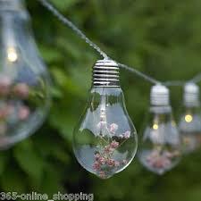light bulb string lights 10x novelty edison light bulb string lights flowers indoor outdoor