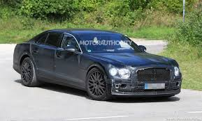 white bentley flying spur 2020 bentley flying spur spy shots and video