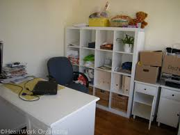 Home Office Shelving by Home Office Makeover With Expedit Shelving Ikea Heartworkorg Com