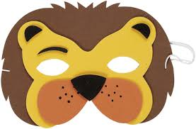 lion mask for kids mask lion singles izzys party shop makes easy