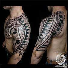 tatouage polynesien polynesian tattoo polynesian maori tribal tattoo