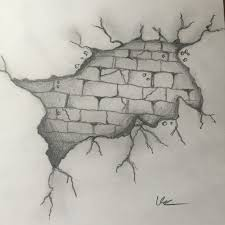 pencil sketch on wall best 20 wall drawing ideas on pinterest