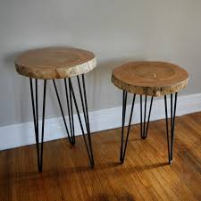 How To Make A Tree Stump End Table by Diy End Table Ideas Top 5 Easy And Cheap Projects Froy Blog