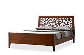 Tree Bed Frame Baxton Studio Tree Branch Inspired Walnut