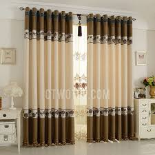 livingroom curtains exquisite embroidery floral linen cotton blend living room curtains