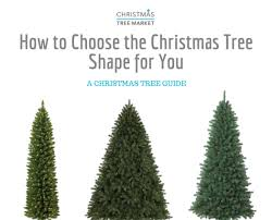 how to choose the artificial christmas tree shape for you