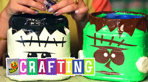 how to craft a duct tape halloween candy bucket youtube