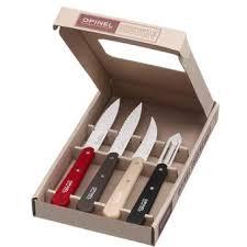 couteau de cuisine opinel coffret couteaux de cuisine opinel les essentiels loft achat