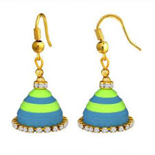 quilling earrings images quilling earrings buy quilling earrings online at best prices in