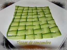 assiette de cuisine tissage de concombre pour décor fond l assiette la cuisine