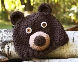 Brown Bear Halloween Costume Brown Bear Hat Etsy