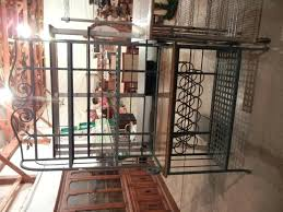 Metal Bakers Rack Wine Rack Bakers Wine Rack Wrought Iron Kitchen Shelving Metal