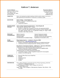resume templates word doc 8 college student resume template word graphic resume
