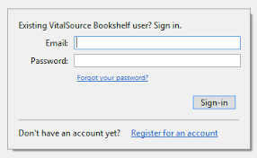 Vital Bookshelf Login Create A New Account With Redemption Code U2013 Bookshelf Support