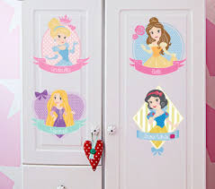 disney princess girls nursery wall stickers art mural kids room package the sticker will be pre cut for you into pieces and post in envelop
