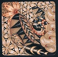 zentangle pattern trio 54 best zentangle renaissance tiles images on pinterest