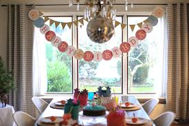how to decorate birthday party at home odds ends 1st birthday party