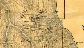 Solano County Map Zem Zem And The Lake County Mail U201d By Marie Bowen Napa County
