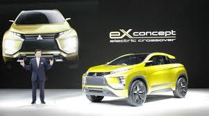 harga mitsubishi xm concept mitsubishi ex concept langkah maju teknologi mobil listrik