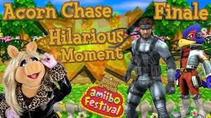 abm animal crossing happy festival acorn chase finale hd