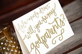 Will You Be My Godparent Invitation Card Will You Be My Godparents Personalized Detail By Your New Friend