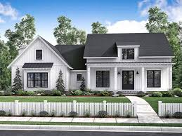 One Story Cottage Plans One Story Home Plans At Dream Home Source One Story Homes And
