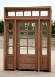Exterior Doors Discount Exterior Doors With Sidelights And Transom Change Glass