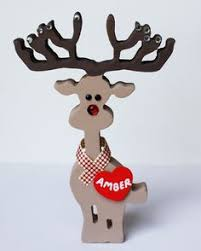 Baby Deer Christmas Decorations by Light Up Standing White Reindeer Outdoor Christmas Decoration