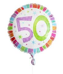 50th birthday balloon delivery 50th birthday balloon for delivery to united kingdom from
