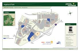 Mohegan Sun Map Highland Park Lot 2 Properties Penn U0027s Northeast