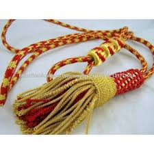 clergy cords gold metallic tassels ecclesiastical litergical dress tassels