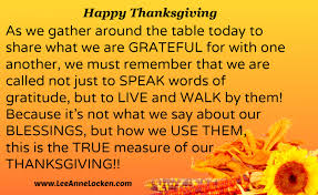 inspirational thanksgiving quotes like success