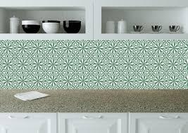 carrelage vintage cuisine vintage vert murale stickers carrelage salle de bain carrelage