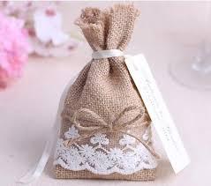 wedding favor bags 50pcs color linen jute pouch burlap bag wedding favor and