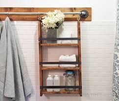 Bathroom Shelf Organizer by 105 Best Bathroom Shelf Plans Bathroom Cabinet Plans Images On