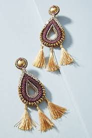 purple earrings purple women s earrings delicate fashion earrings