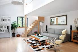 Living Room With Stairs Design Magnificent Living Room With Stairs Design Living Room With Stairs