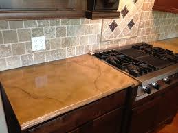 light colored concrete countertops colored and stained concrete countertop rustic houston by