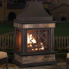 stand alone outdoor gas fireplace outdoor designs