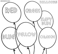 balloon coloring pages coloring pages to download and print