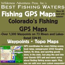 Colorado Game Unit Map by Amazon Com Colorado Fishing Gps Maps Micro Sd Card Fishing