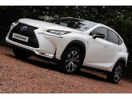 lexus uk media used lexus nx 300h suv 2 5 f sport e cvt 4wd 5dr p navi in