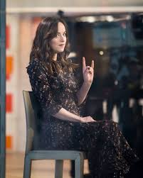 today show set dakota johnson on the set of today show in new york 02 01 2017