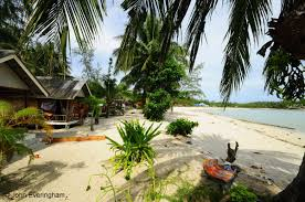 ao sri thanu beach koh phangan thailand laem son 2 bungalows